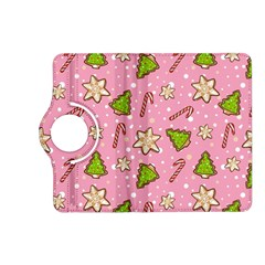 Ginger Cookies Christmas Pattern Kindle Fire Hd (2013) Flip 360 Case