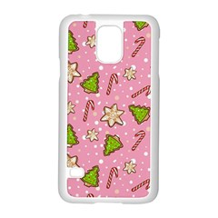 Ginger Cookies Christmas Pattern Samsung Galaxy S5 Case (white)