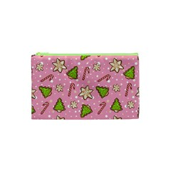 Ginger Cookies Christmas Pattern Cosmetic Bag (xs)