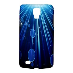 Blue Rays Light Stars Space Galaxy S4 Active