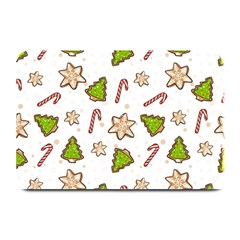 Ginger Cookies Christmas Pattern Plate Mats