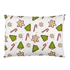 Ginger Cookies Christmas Pattern Pillow Case