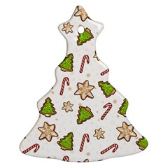 Ginger Cookies Christmas Pattern Ornament (christmas Tree)