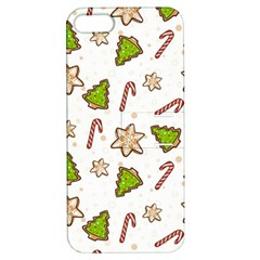 Ginger Cookies Christmas Pattern Apple Iphone 5 Hardshell Case With Stand