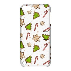 Ginger Cookies Christmas Pattern Apple Ipod Touch 5 Hardshell Case With Stand