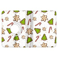 Ginger Cookies Christmas Pattern Kindle Fire Hdx Flip 360 Case