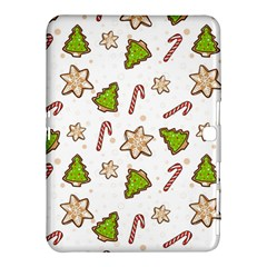 Ginger Cookies Christmas Pattern Samsung Galaxy Tab 4 (10 1 ) Hardshell Case