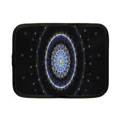 Colorful Hypnotic Circular Rings Space Netbook Case (small)
