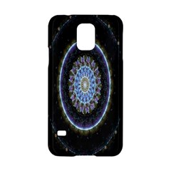 Colorful Hypnotic Circular Rings Space Samsung Galaxy S5 Hardshell Case