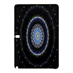 Colorful Hypnotic Circular Rings Space Samsung Galaxy Tab Pro 10 1 Hardshell Case