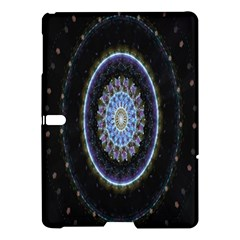 Colorful Hypnotic Circular Rings Space Samsung Galaxy Tab S (10 5 ) Hardshell Case