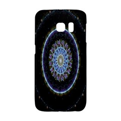Colorful Hypnotic Circular Rings Space Galaxy S6 Edge