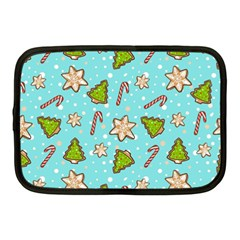 Ginger Cookies Christmas Pattern Netbook Case (medium)