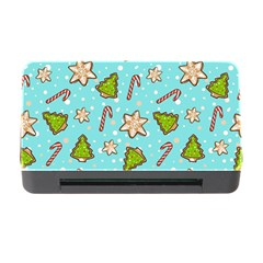 Ginger Cookies Christmas Pattern Memory Card Reader With Cf
