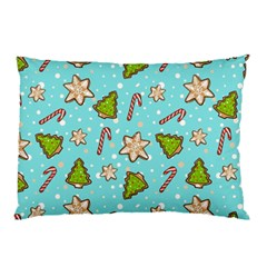 Ginger Cookies Christmas Pattern Pillow Case (two Sides)