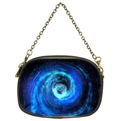 Blue Black Hole Galaxy Chain Purses (one Side)