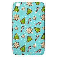 Ginger Cookies Christmas Pattern Samsung Galaxy Tab 3 (8 ) T3100 Hardshell Case