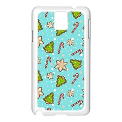 Ginger Cookies Christmas Pattern Samsung Galaxy Note 3 N9005 Case (white)