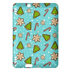 Ginger Cookies Christmas Pattern Kindle Fire Hdx Hardshell Case