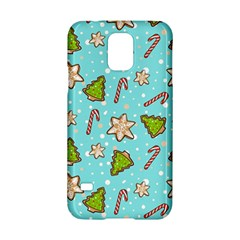 Ginger Cookies Christmas Pattern Samsung Galaxy S5 Hardshell Case