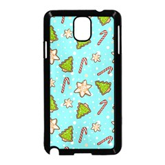 Ginger Cookies Christmas Pattern Samsung Galaxy Note 3 Neo Hardshell Case (black)