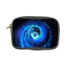 Blue Black Hole Galaxy Coin Purse