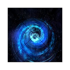 Blue Black Hole Galaxy Acrylic Tangram Puzzle (6  X 6 )