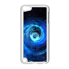 Blue Black Hole Galaxy Apple Ipod Touch 5 Case (white)