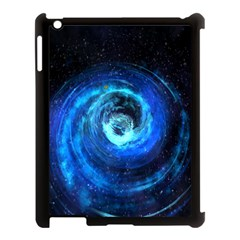 Blue Black Hole Galaxy Apple Ipad 3/4 Case (black)