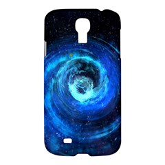 Blue Black Hole Galaxy Samsung Galaxy S4 I9500/i9505 Hardshell Case