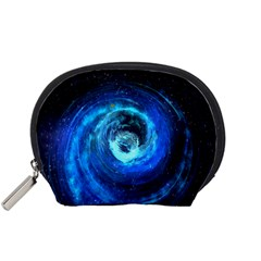 Blue Black Hole Galaxy Accessory Pouches (small)