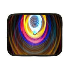 Colorful Glow Hole Space Rainbow Netbook Case (small)