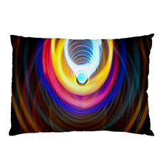 Colorful Glow Hole Space Rainbow Pillow Case