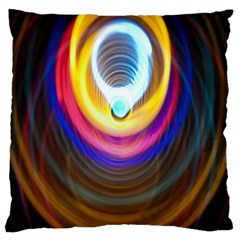 Colorful Glow Hole Space Rainbow Large Cushion Case (two Sides)