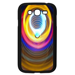 Colorful Glow Hole Space Rainbow Samsung Galaxy Grand Duos I9082 Case (black)
