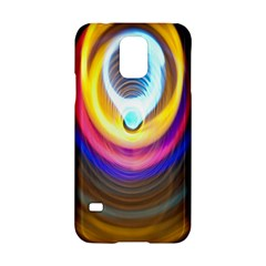 Colorful Glow Hole Space Rainbow Samsung Galaxy S5 Hardshell Case