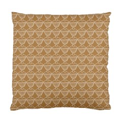 Cake Brown Sweet Standard Cushion Case (one Side)
