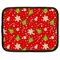 Ginger Cookies Christmas Pattern Netbook Case (xxl)