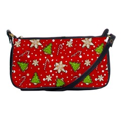 Ginger Cookies Christmas Pattern Shoulder Clutch Bags