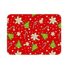 Ginger Cookies Christmas Pattern Double Sided Flano Blanket (mini)