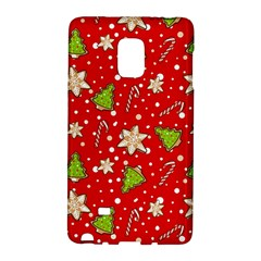 Ginger Cookies Christmas Pattern Galaxy Note Edge