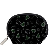 Ginger Cookies Christmas Pattern Accessory Pouches (small)
