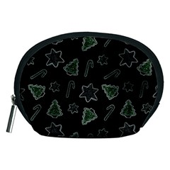 Ginger Cookies Christmas Pattern Accessory Pouches (medium)