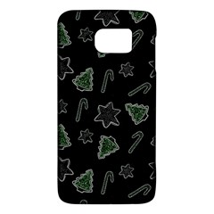 Ginger Cookies Christmas Pattern Galaxy S6