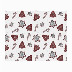 Ginger Cookies Christmas Pattern Small Glasses Cloth (2 Side)