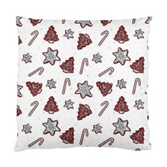 Ginger Cookies Christmas Pattern Standard Cushion Case (one Side)