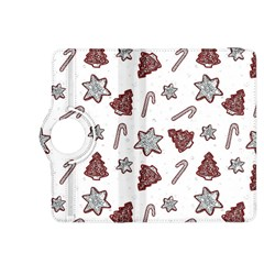 Ginger Cookies Christmas Pattern Kindle Fire Hdx 8 9  Flip 360 Case