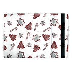 Ginger Cookies Christmas Pattern Samsung Galaxy Tab Pro 10 1  Flip Case