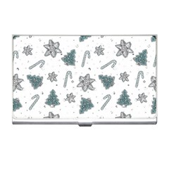 Ginger Cookies Christmas Pattern Business Card Holders