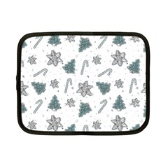 Ginger Cookies Christmas Pattern Netbook Case (small)